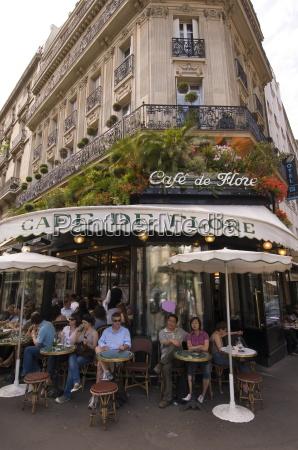 cafe de flore boulevard saint germain