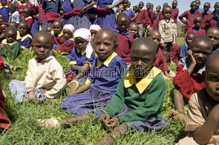schoolchildren ndogo primary school gilgil district
