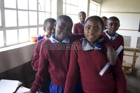 schoolgirls simba primary school rift valley
