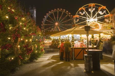 christmas market opera palace berlin germany