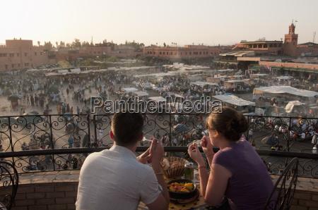 djemaa el fna square marrakech morocco