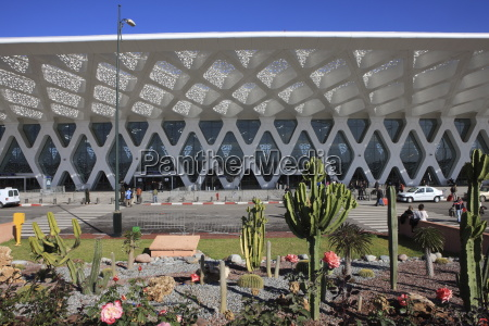 airport marrakech morocco north africa africa