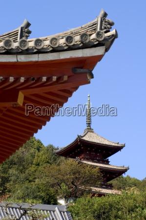 pagoda saikokuji temple onomichi town hiroshima