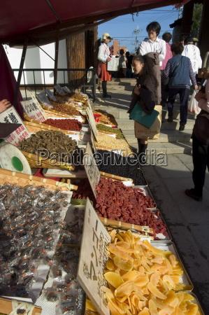 food stall toji temple flea market