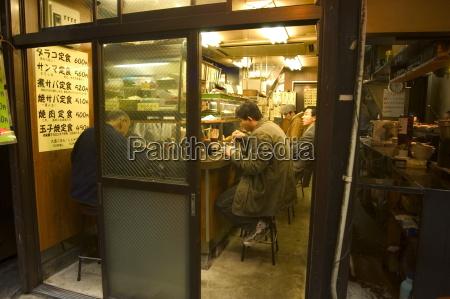 stall restaurants shinjuku tokyo honshu japan