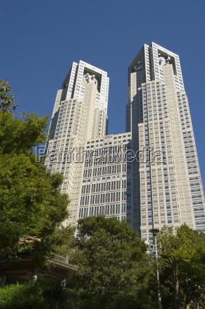 metropolitan government buildings shinjuku tokyo honshu