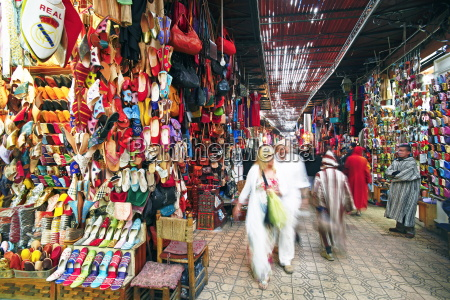 in the souk marrakech morocco north