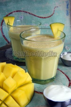 indian food lassi mango juice india