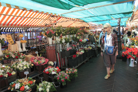 market at cours saleya old town
