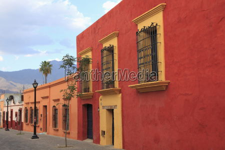 colonial architecture oaxaca city oaxaca mexico