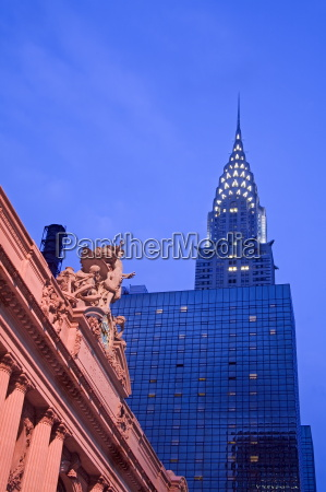 grand central station and the empire