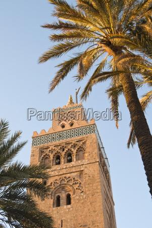 minaret of the koutoubia mosque unesco