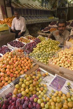 fruit and vegetable market amman jordan