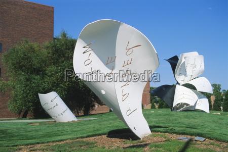 fahrt reisen kunst farbe amerikanisch skulptur