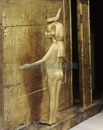 statue, der, g??ttin, serket, die, kanopenschrein - 20748995