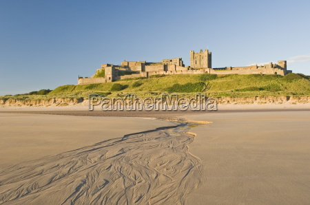 bamburgh castle northumberland england united kingdom