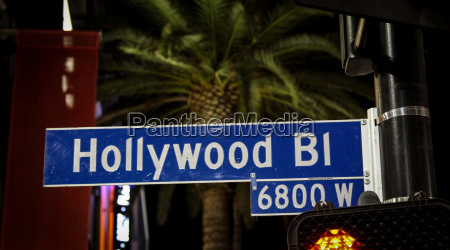 hollywood boulevard usa los angeles