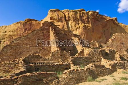 pueblo bonito chaco culture national historical