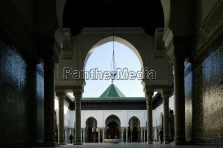 paris great mosque paris france europe
