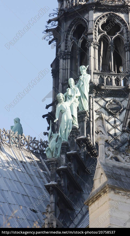 statuen, von, drei, aposteln, am, fuße - 20758537