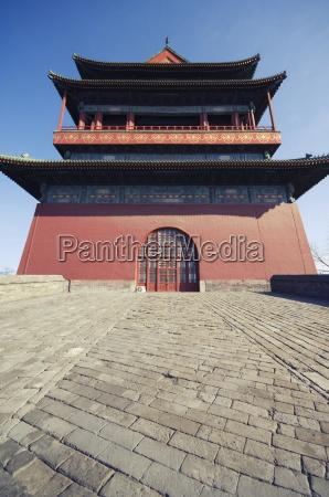 der drum towereine spaetere ming dynastie