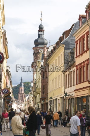 the hauptstrasse main street with the