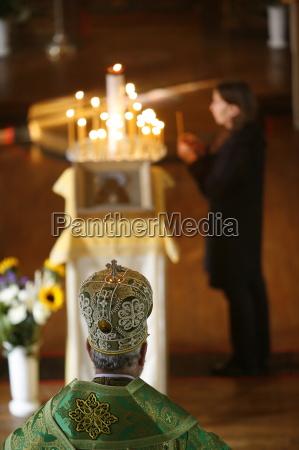 orthodox, celebration, , paris, , ile, de, france, - 20767499