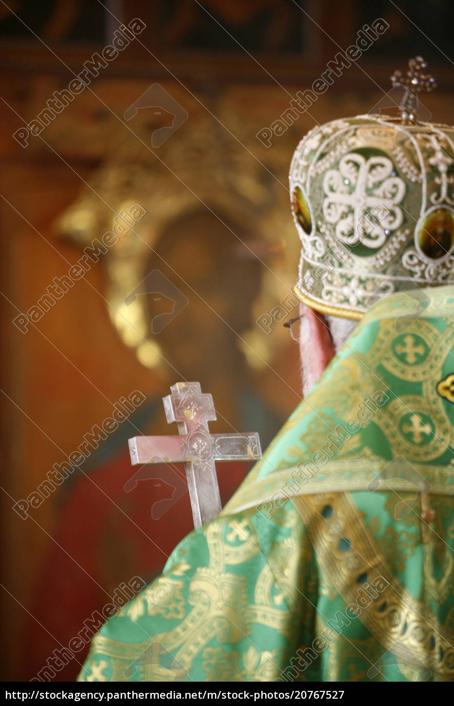 orthodoxe, feier, unter, der, leitung, von - 20767527
