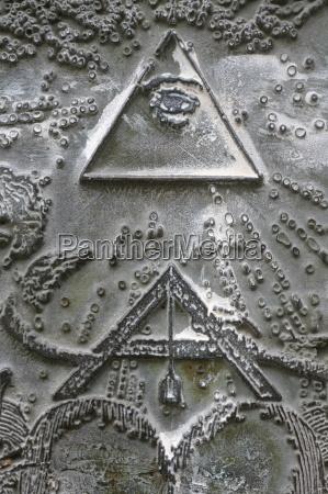 masonic symbols of angle bracket and