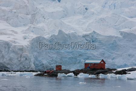 bauten winter forschung kalt kaelte antarktis