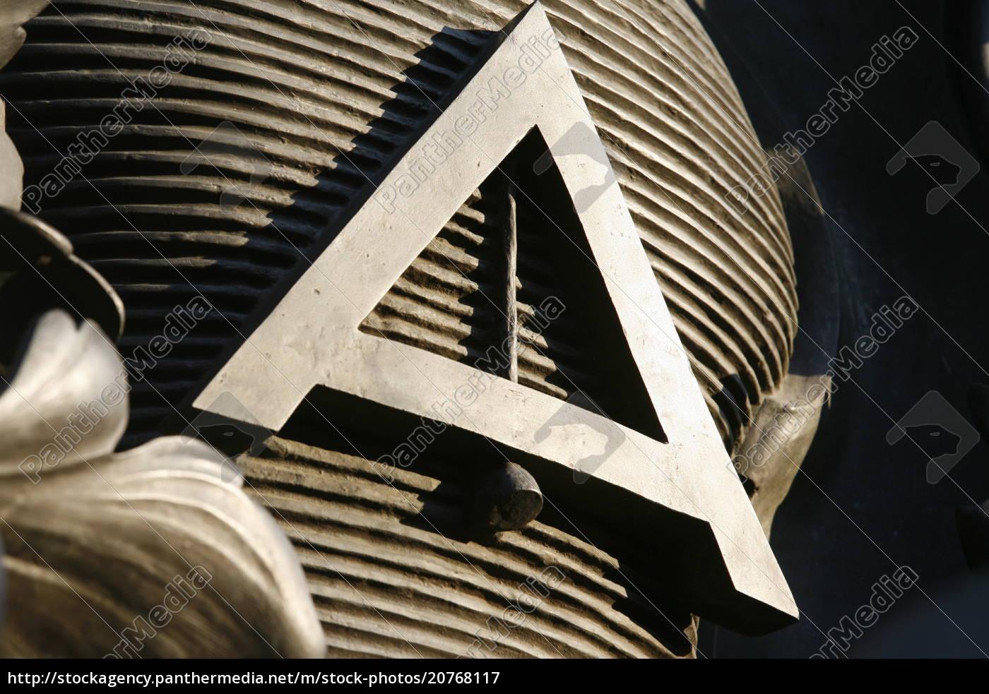 freimaurersymbol, auf, dem, place, de, la - 20768117