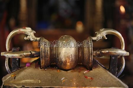 vajra in golden temple patan nepal
