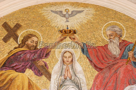 coronation of the virgin mary basilica