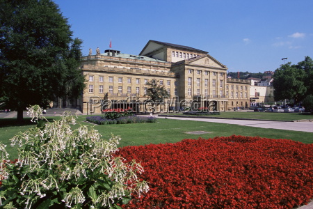 the state theater schlossplatz stuttgart baden