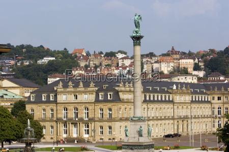 schlossplatz palace square and neues schloss