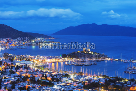 the 15th century bodrum castle and