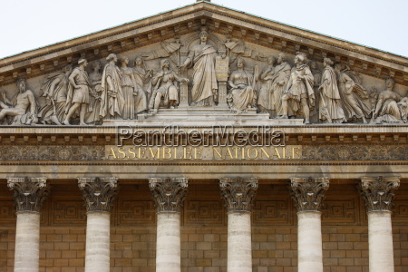 assemblee nationale french parliament paris france