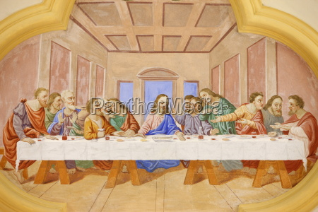 the last supper in saint nicolas