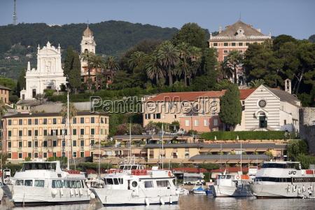 view of santa margherita port liguria