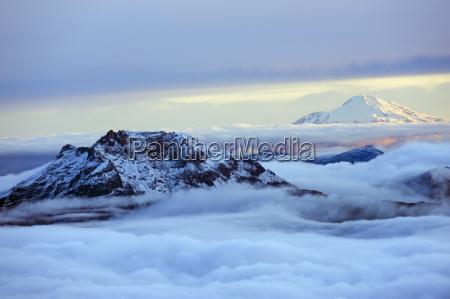 montagne nuvola orizzontale allaperto fotografia foto