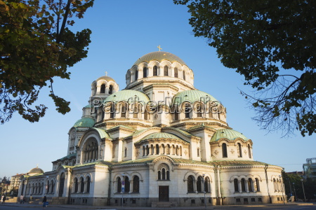 aleksander nevski memorial church sofia bulgaria