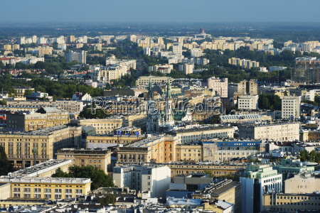 city view from palace of culture
