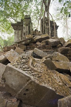 ta prohm temple angkor unesco world