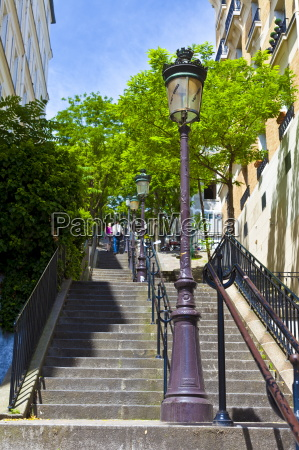 montmartre steps immortalized in many paintings