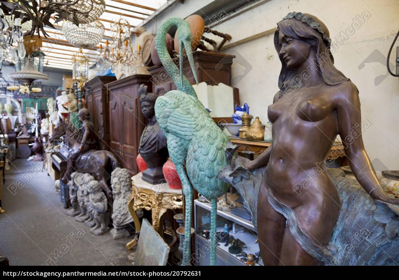 antiquitäten, zu, verkaufen, les, puces, de, saint-ouen - 20792631