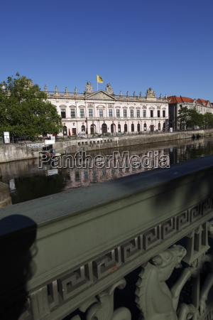 schlossbruecke palace bridge and deutsches historisches