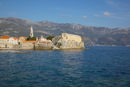 view of old town budva montenegro