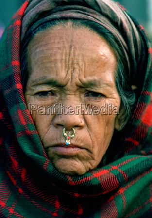a woman from the kathmandu valley