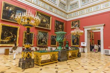 interior view of the winter palace