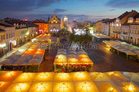 city hall and market square at
